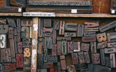 La typographie et son importance dans le monde du livre